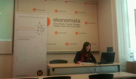 Euskalit_Enpresarean2012. Hirudart, Amaia Elu