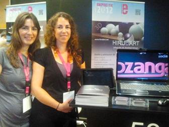 Feria Emprendimiento Emprende2012. Amaia Elu, Hirudart
