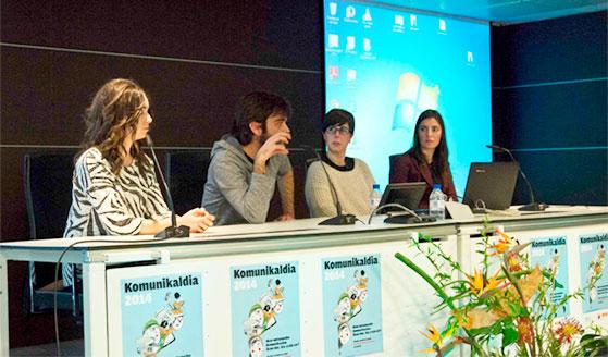 Komunikaldia2014-Mondragon Unibertsitatea, Amaia Elu