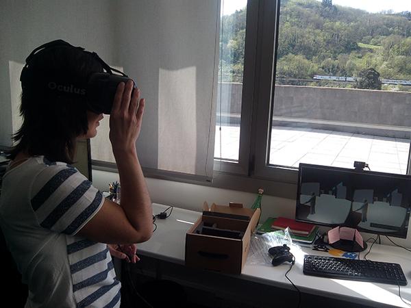 Amaia Elu fusionando realidad virtual con animación 3D. Hirudart